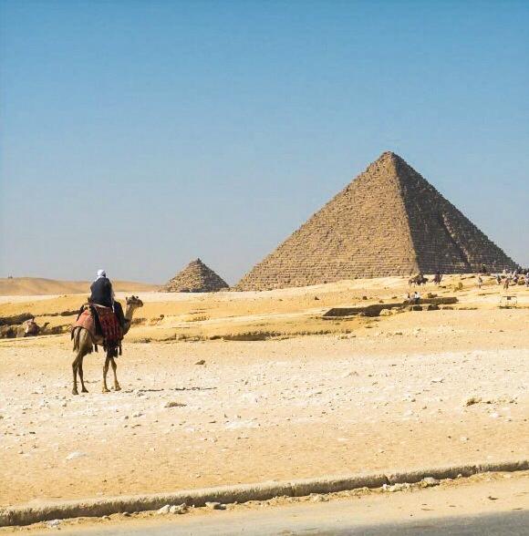 Egypt: The Pyramids-Breezing Through