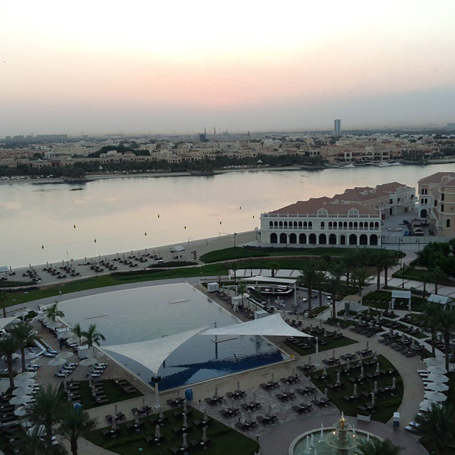 How to Stay In Shape When You Travel : The Ritz-Carlton Abu Dhabi Grand Canal- Breezing Through Blog