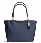 COACH MADISON EAST/WEST TOTE IN SAFFIANO LEATHER- Breezing Through