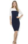 Lauren Ralph Lauren Short-Sleeve Colorblocked Sheath Dress-Breezing Through