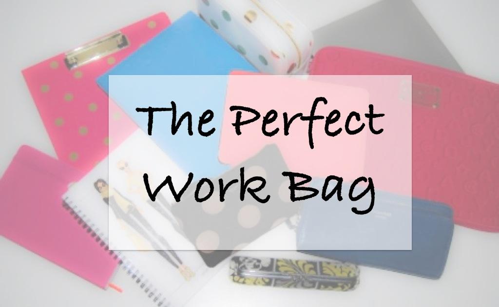 The Perfect Work Bag-Breezing Through