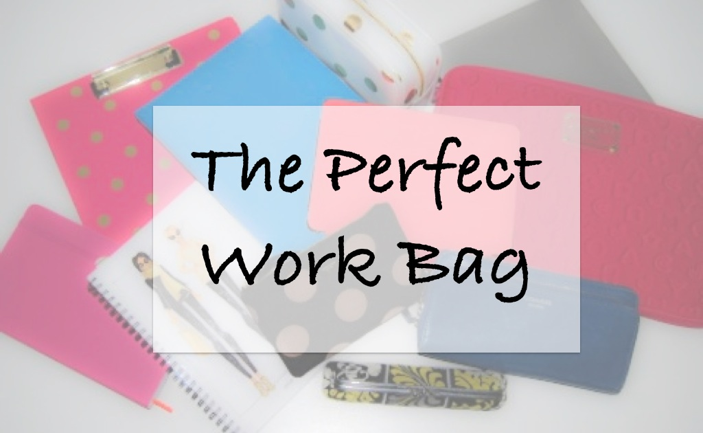 The Perfect Work Bag-Breezing Through