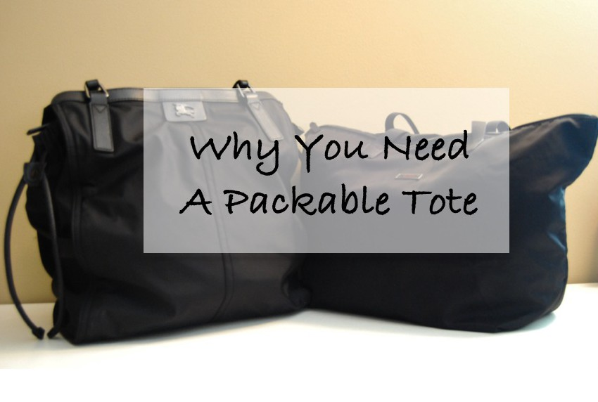 Why You NEED A Packable Travel Tote- Breezing Through
