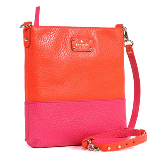 Kate Spade 'Grove Court Cora' Zinniapink Leather Crossbody | Breezing Through