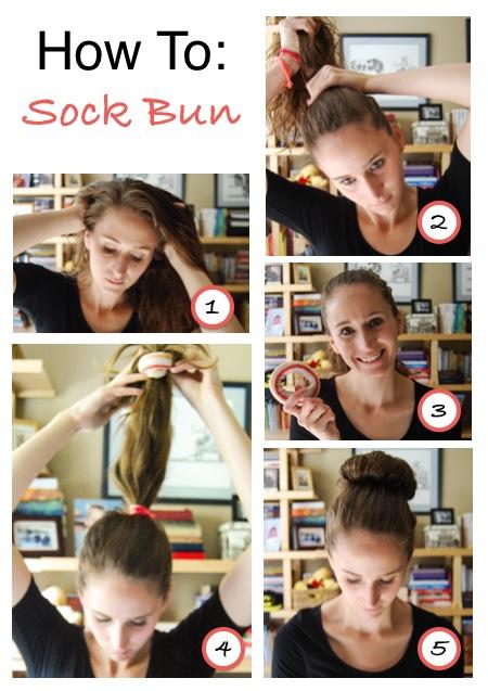 How To: Sock Bun | Breezing Through
