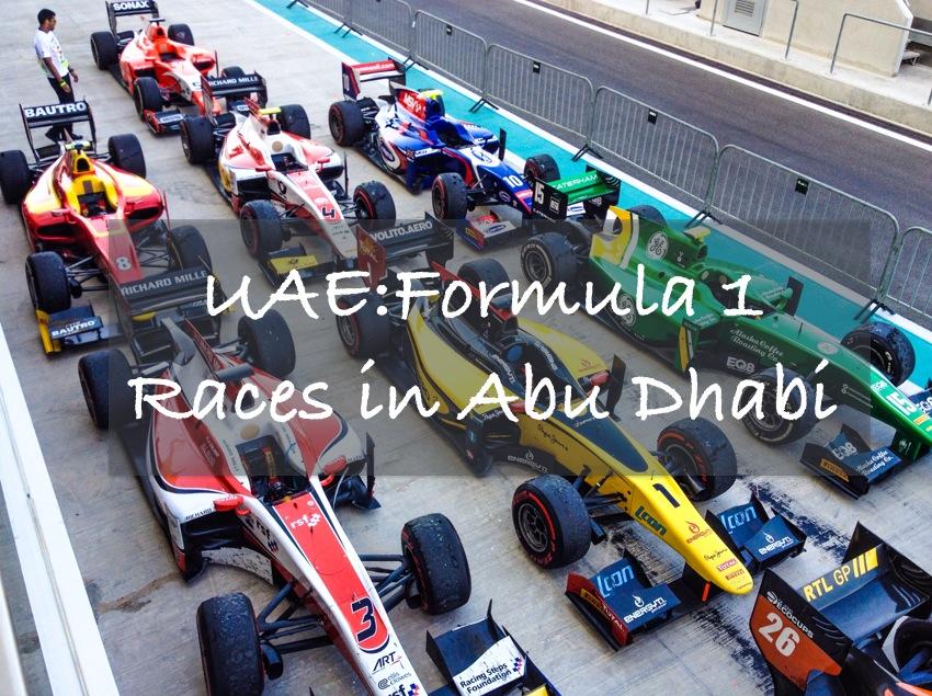 UAE: Formula 1 Races in Abu Dhabi | Breezing Through
