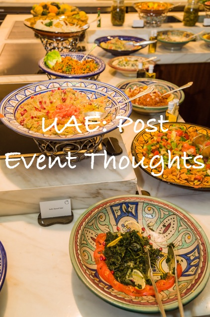 UAE: Post Event Thoughts | Breezing Through