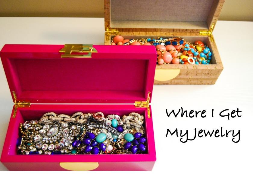 Where I get My Jewelry   Breezing Through