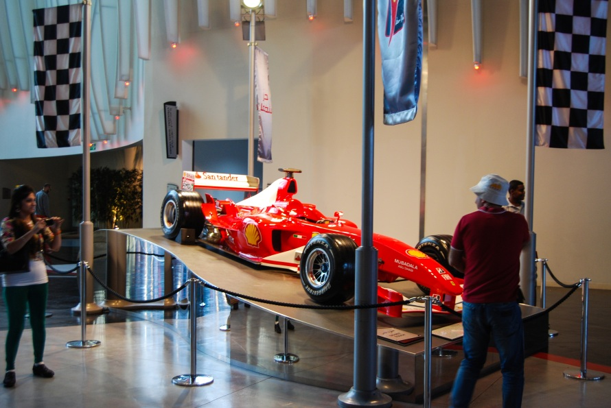 UAE: Ferrari World
