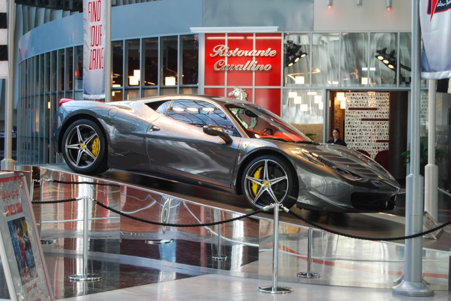 UAE: Ferrari World