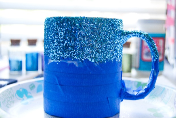 DIY Friday: Glitter Dipped Mug | Breezing Through