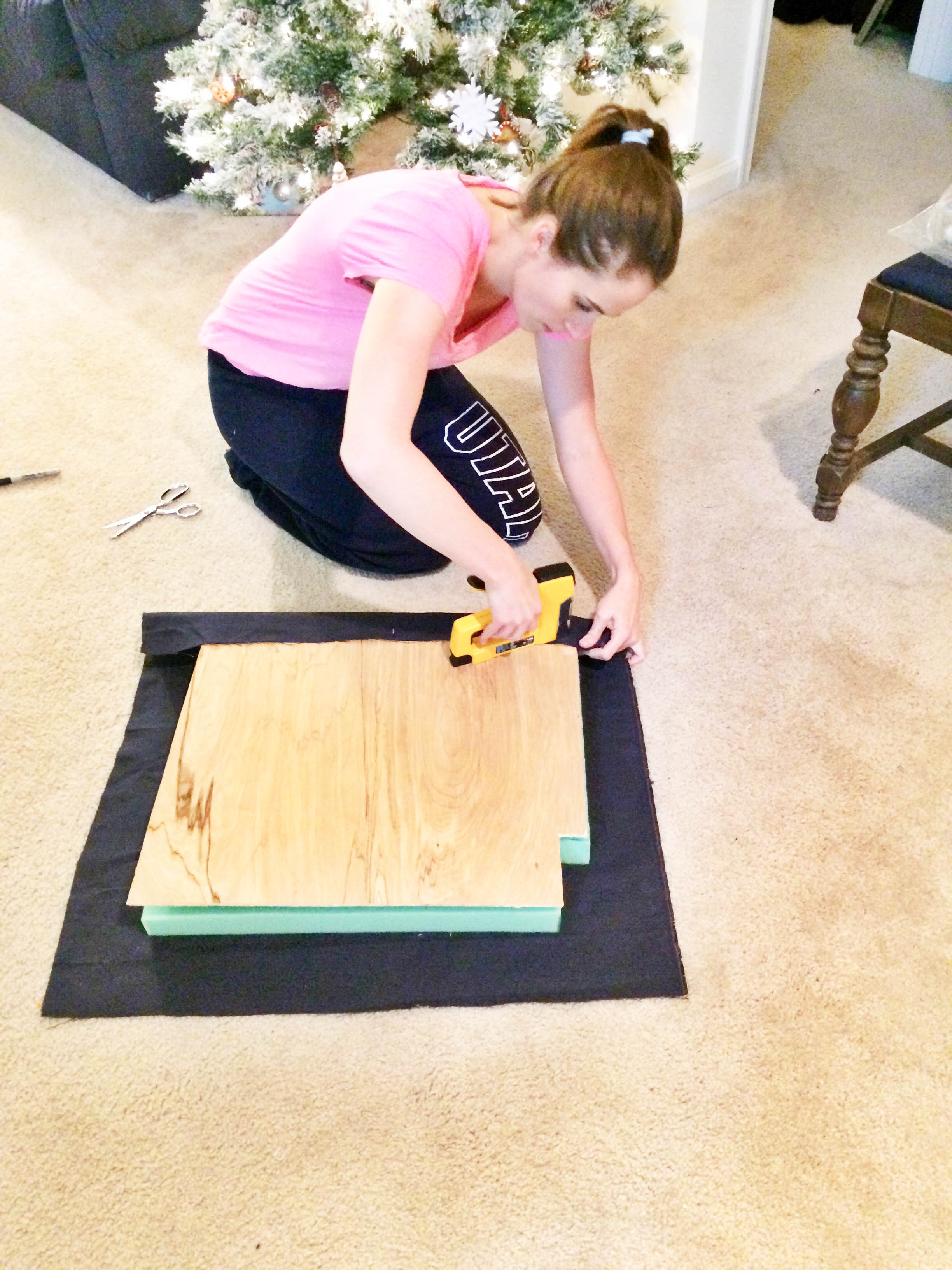 DIY Friday: Bed Frame into Bench | Breezing Through